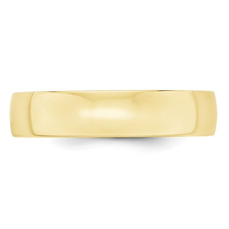 Quality Gold 10KY 5mm LTW Comfort Fit Band Size 10