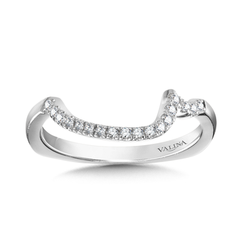 Diamond and 14K White Gold Wedding Ring (0.13 ct. tw.)