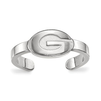 Sterling Silver University of Georgia NCAA Ring