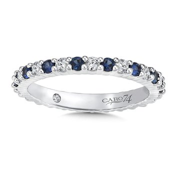 CARO 74 Eternity Band (Size 6.5) in 14K White Gold (0.441ct. tw.)