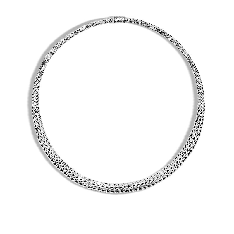JOHN HARDY Classic Chain 8.5MM Graduated Necklace in Silver