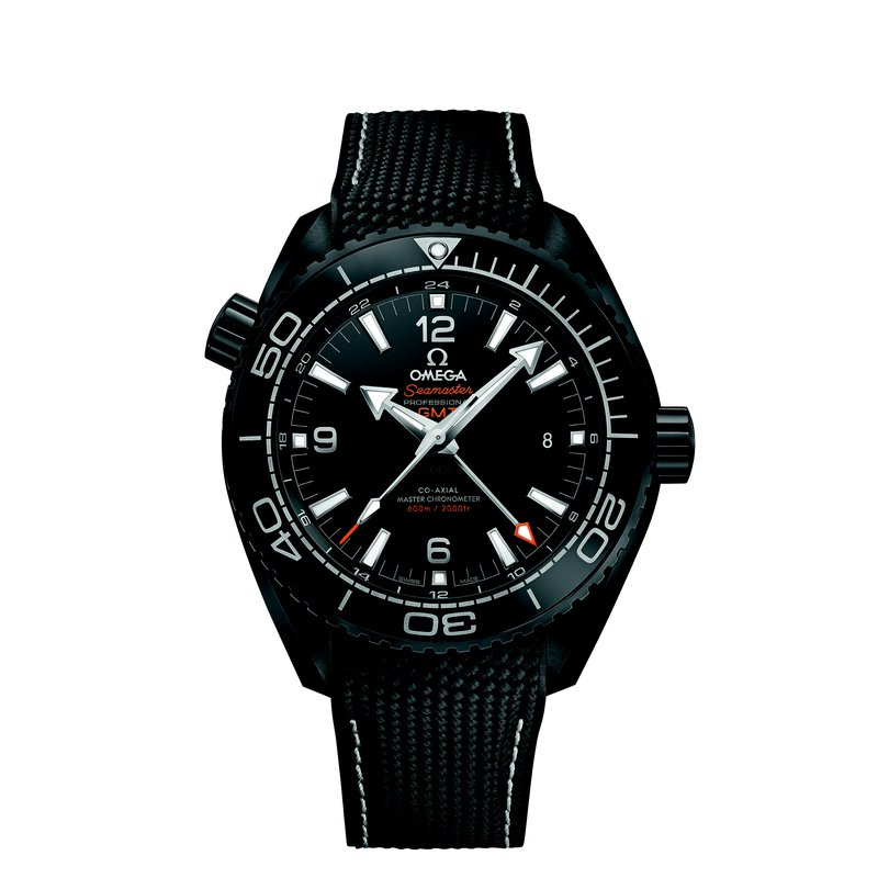 OMEGA Seamaster Planet Ocean 600M Omega Co-axial Master Chronometer GMT 45.5 mm