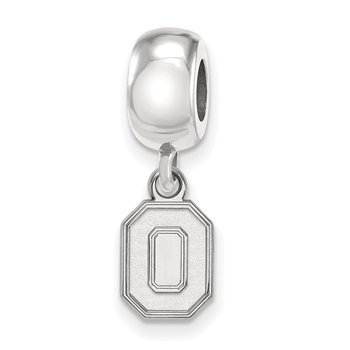 Sterling Silver Ohio State University NCAA Bead