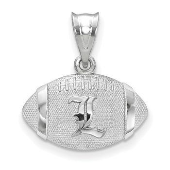 Sterling Silver University Of Louisville NCAA Pendant