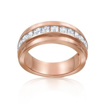 Pink Baguette Ring