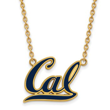 Gold-Plated Sterling Silver University of California Berkeley NCAA Necklace