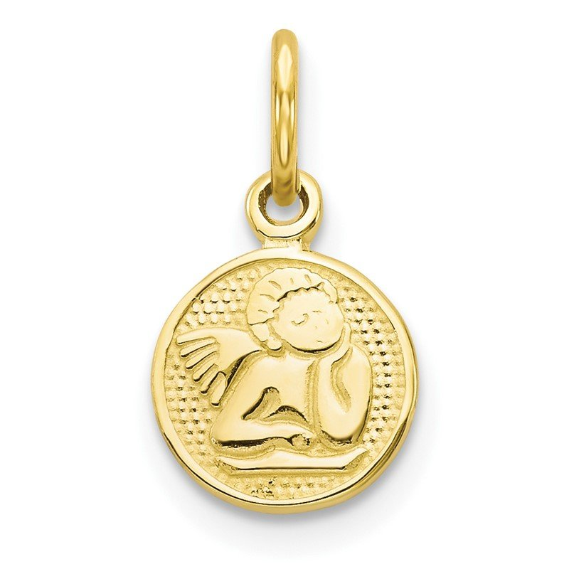 Quality Gold 10k Angel Charm