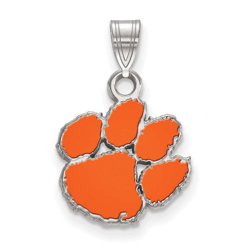 NCAA Sterling Silver Clemson University NCAA Pendant