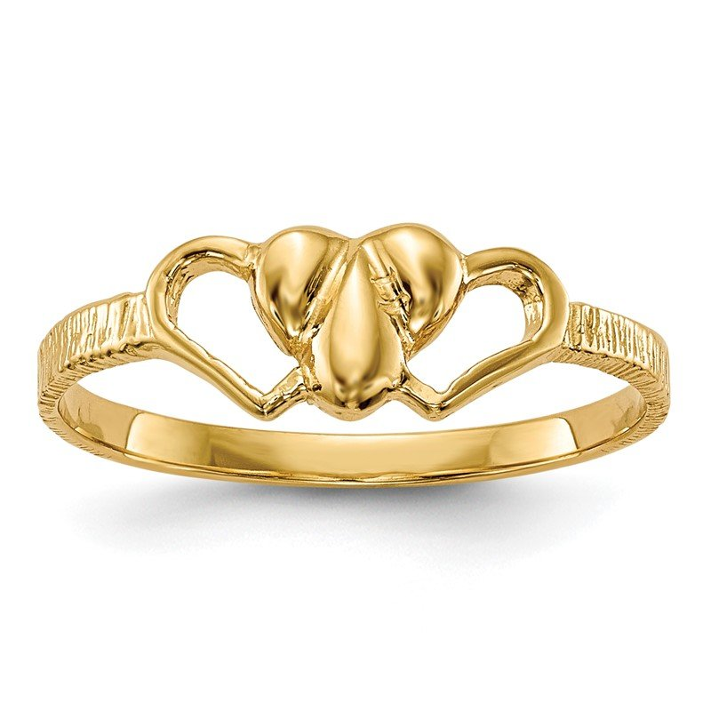 Quality Gold 14k Children's Heart Ring