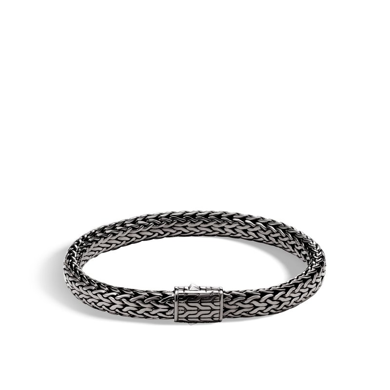 JOHN HARDY Classic Chain 7.5MM Bracelet in Blackened Silver