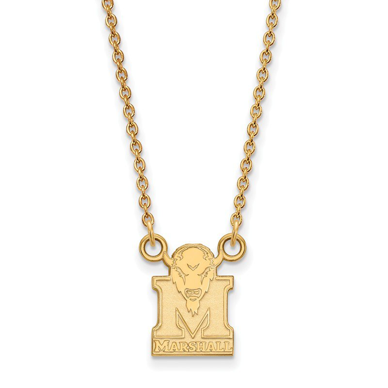 NCAA Gold Marshall University NCAA Necklace