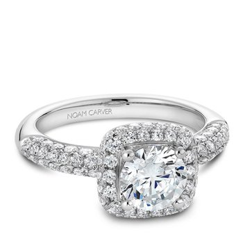Noam Carver Modern Engagement Ring B100-06A