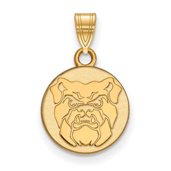 Gold-Plated Sterling Silver Butler University NCAA Pendant