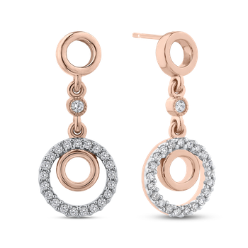 1/3 Ct Diamond Fashion Earrings