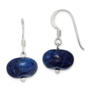 Sterling Silver Blue Aventine Earrings