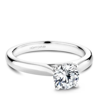 Noam Carver Modern Engagement Ring B190-01A