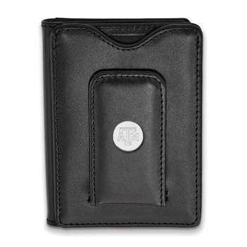 Sterling Silver Texas A&M University NCAA Wallet