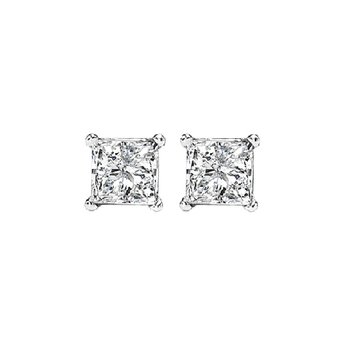 14K Diamond Studs 1/3 ctw P2