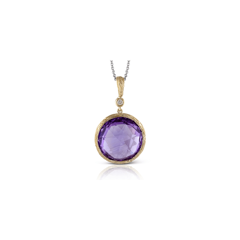 Zeghani ZP441 COLOR PENDANT