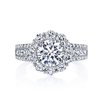 Diamond Engagement Ring 1.58 ct tw