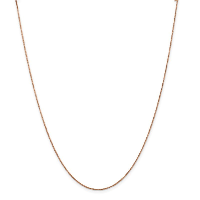 J.F. Kruse Signature Collection 14K Rose Gold .7mm Ropa Chain