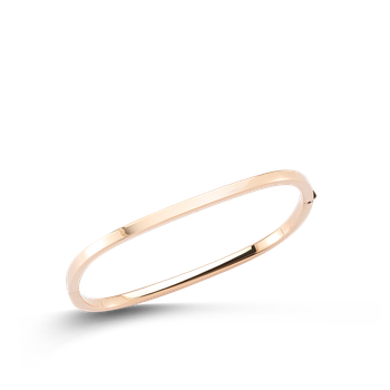 18KT GOLD SQUARE BANGLE