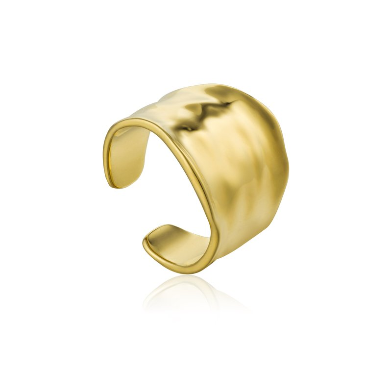 Ania Haie Crush Wide Adjustable Ring