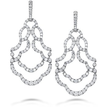 6.5 ctw. Lorelei Chandelier Diamond Earrings
