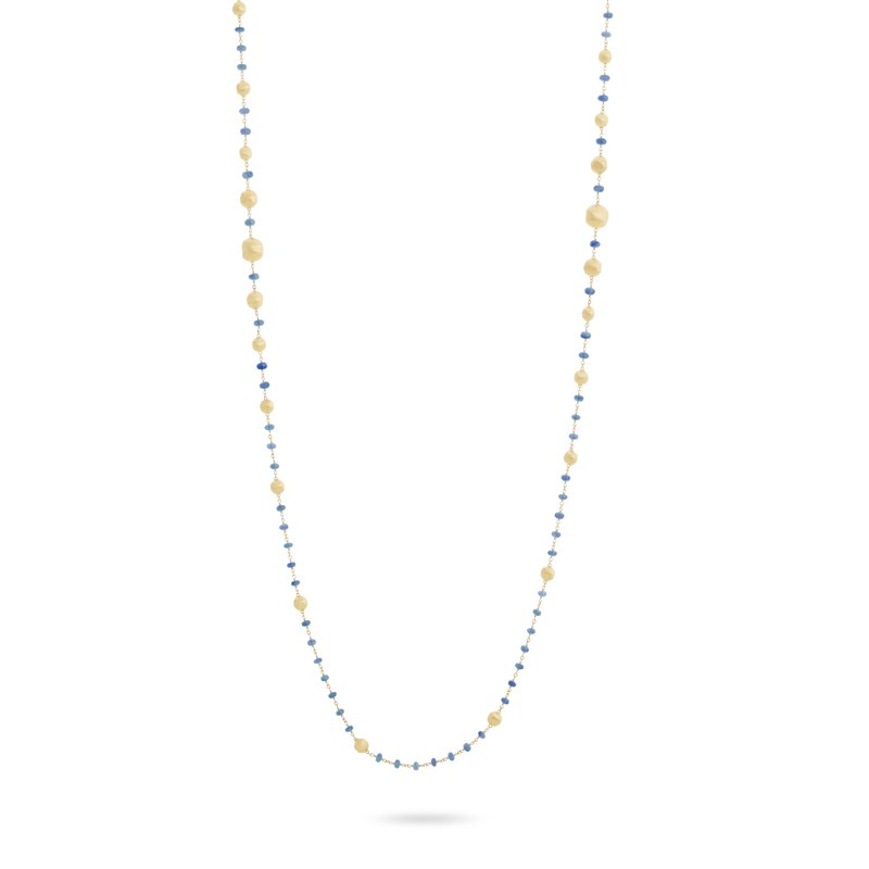 Marco Bicego Africa Sapphire Long Necklace