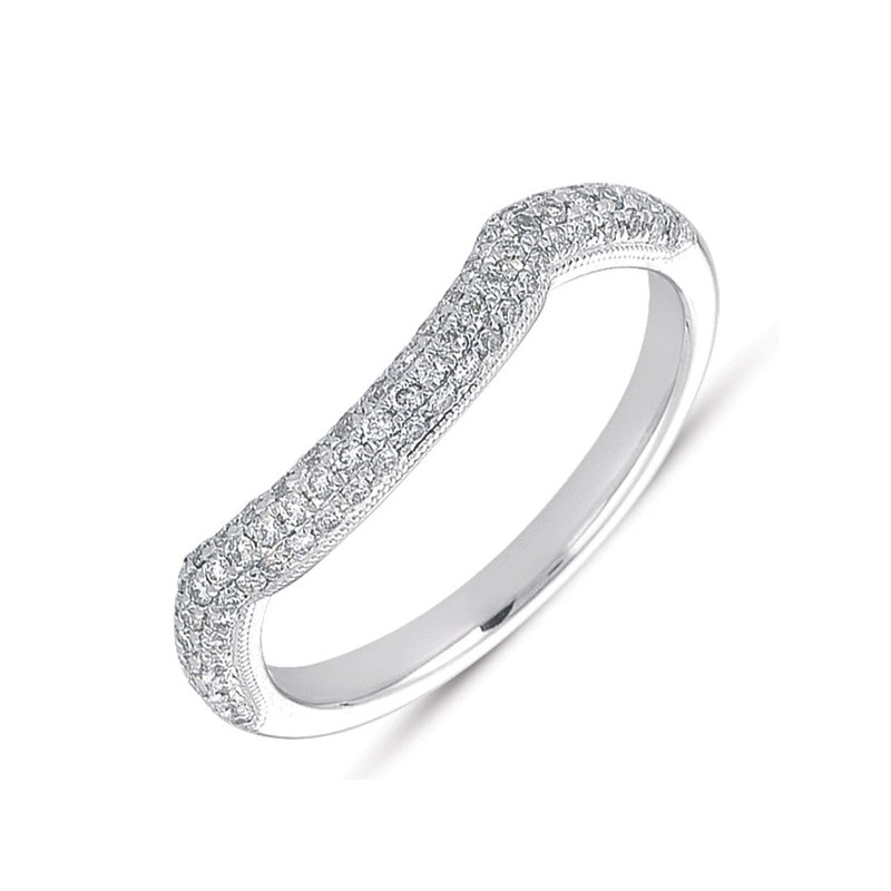 S. Kashi & Sons Bridal Matching Band Pave