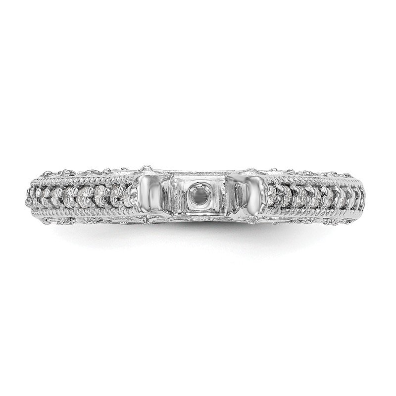 True Origin 14kw True Origin Lab Grown Diamond VS/SI, D E F, Peg Set Engagement Ring