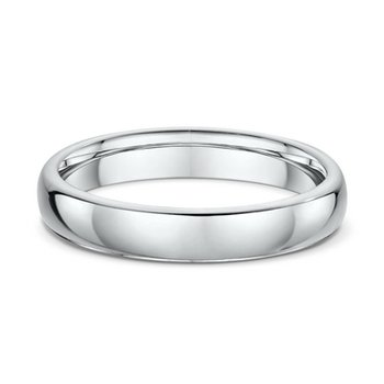 4mm Oval Wedding Band