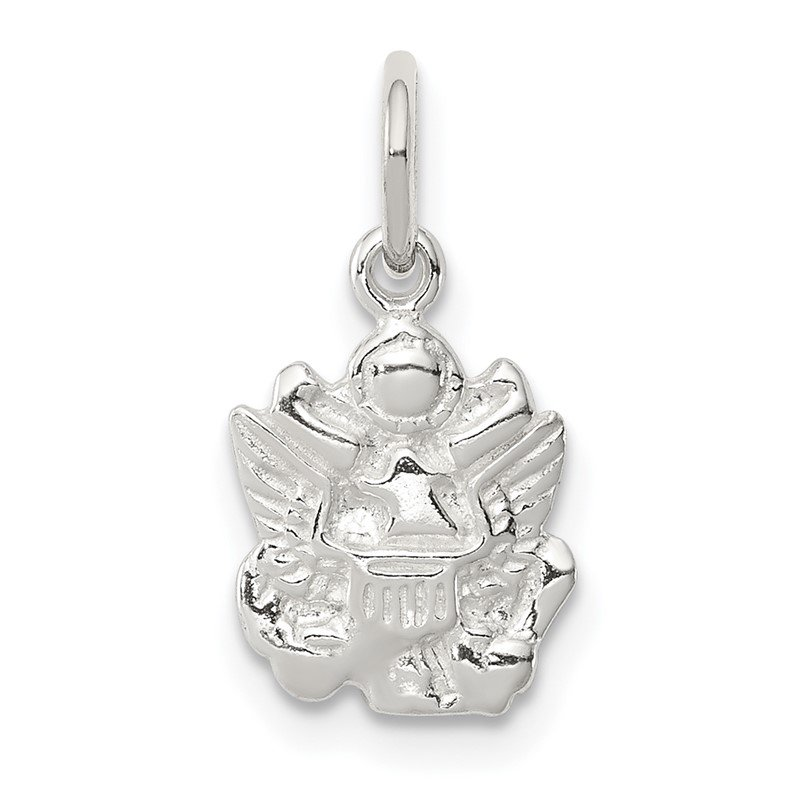 Quality Gold Sterling Silver Army Insignia Charm