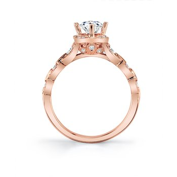 MARS 27123 Engagement Ring, 0.22 Ctw.