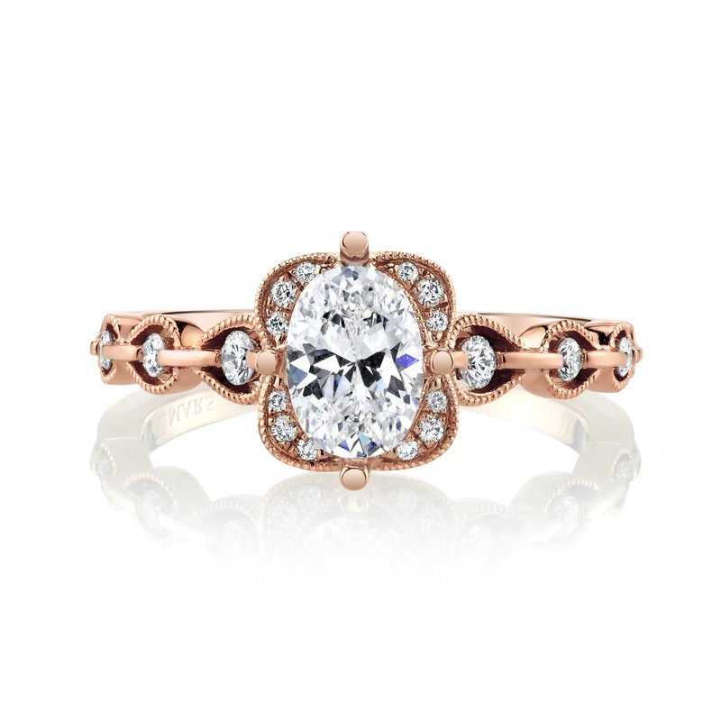 MARS Jewelry MARS 27123 Engagement Ring, 0.22 Ctw.