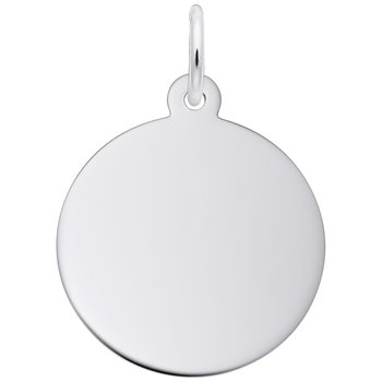 Round Disc Charm (Small)
