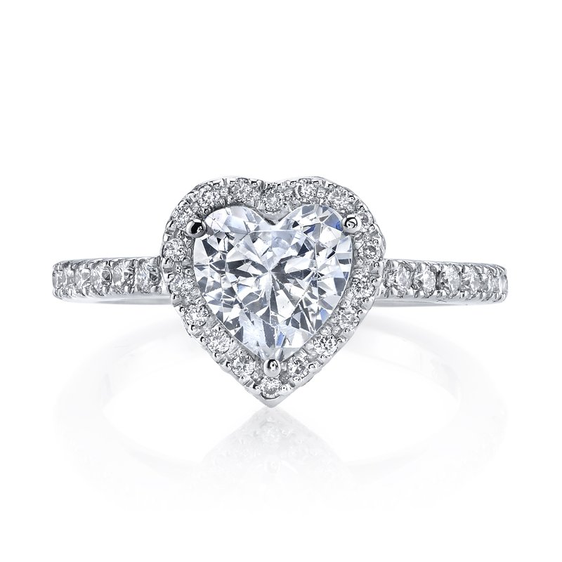 MARS Jewelry Diamond Engagement Ring 0.42 ct tw