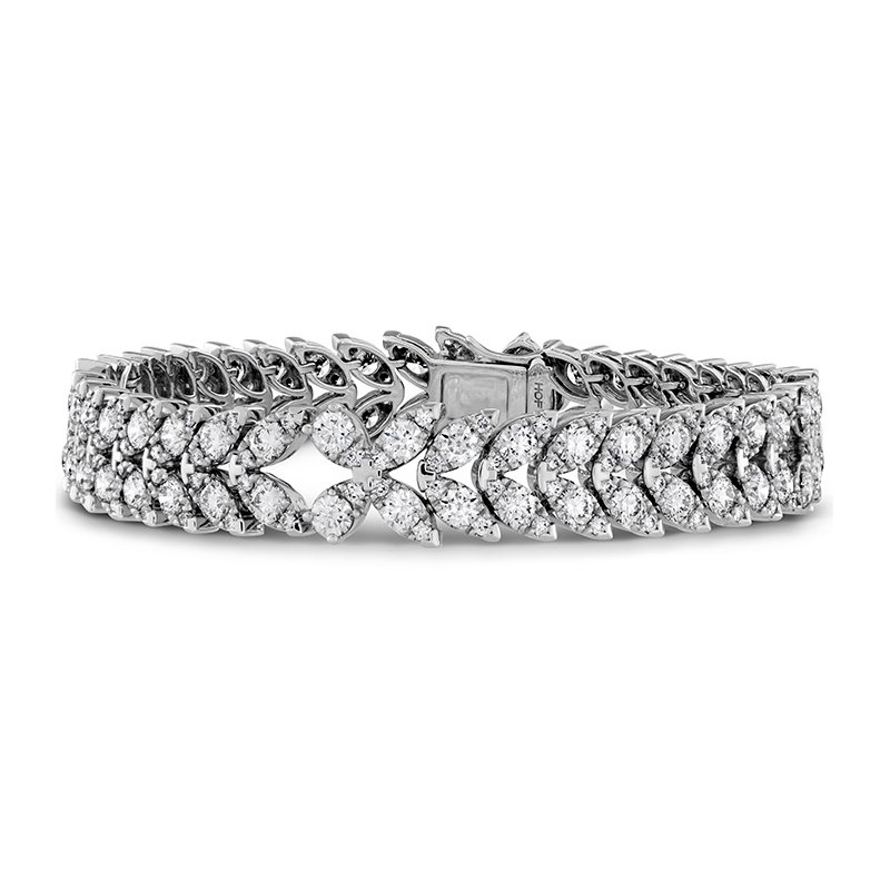 Hearts on Fire 10.5 ctw. Aerial Diamond Bracelet