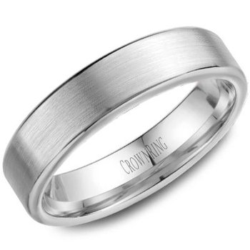 CrownRing Men's Wedding Band WB-9597
