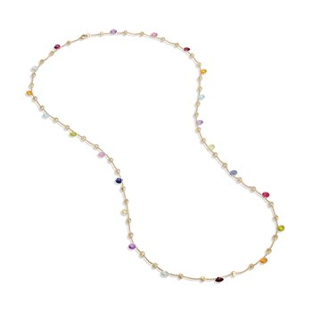 Paradise Mixed Stone Long Necklace