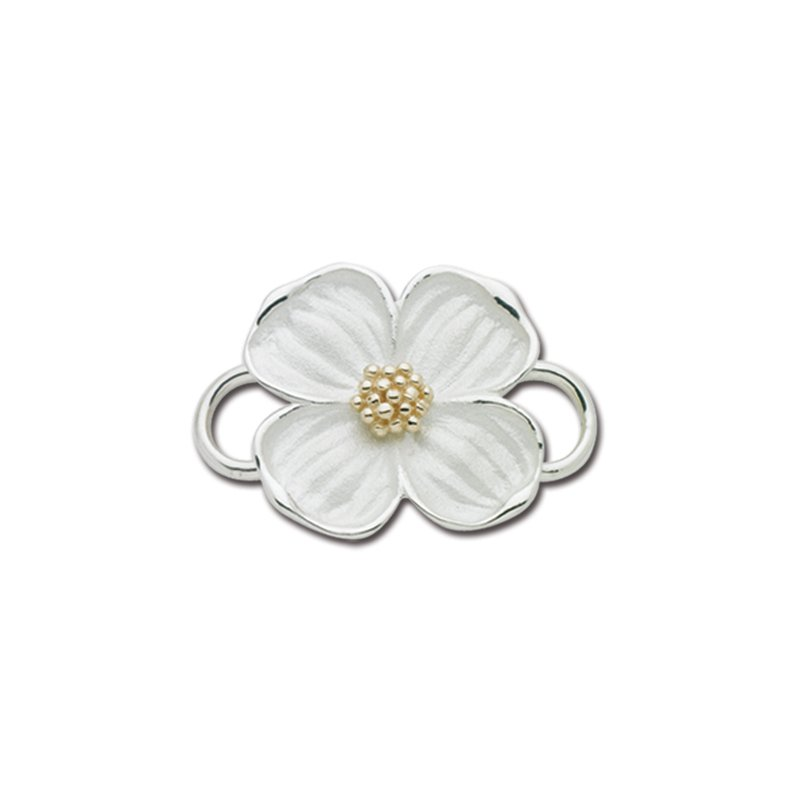 Lestage Two Tone Dogwood Convertible Clasp