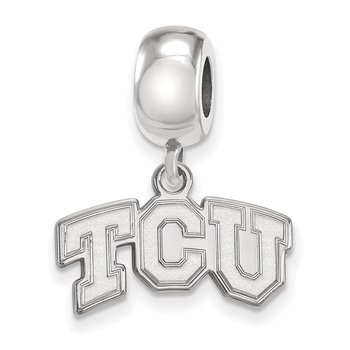 Sterling Silver Texas Christian University NCAA Bead