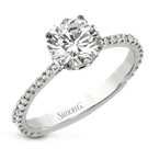 Simon G LR2835 ENGAGEMENT RING