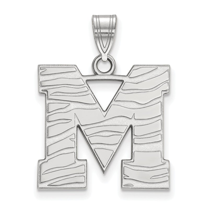 NCAA Gold University of Memphis NCAA Pendant