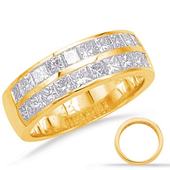 Yellow Gold Diamond Band