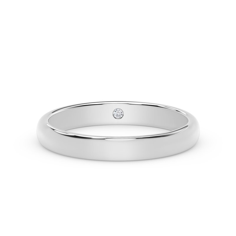 Forevermark Engagement and Commitment 3mm Dome Band