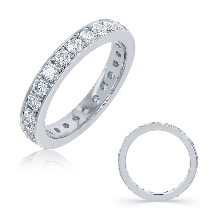 S. Kashi & Sons Bridal Platinum Diamond Eternity Band