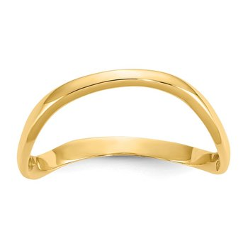 14K Wave Fashion Thumb Ring