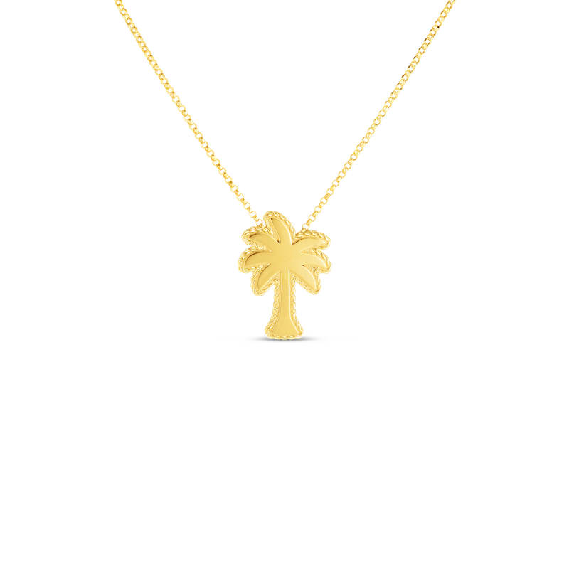 Roberto Coin 18Kt Gold Palm Tree Pendant