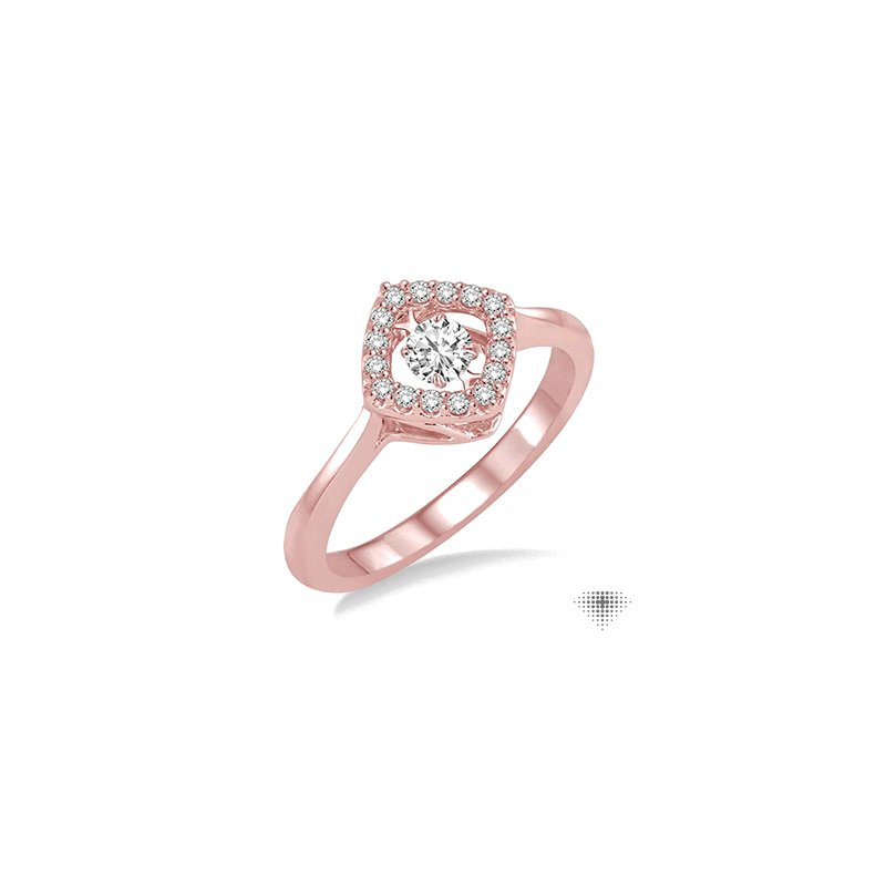 Emotion Diamonds Asscher Shape Emotion Diamond Ring